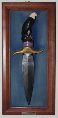 "Franklin Mint - collectors' knives ""The Proud Eagle"""