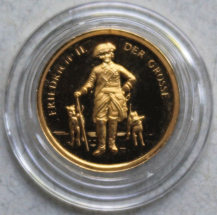 Germany - gold medal 1994 Frederick the Great - gold