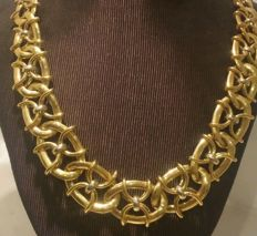 Vintage Women's Necklace 18 kt gold (750)