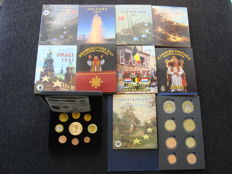 Europe – Probe sets 2002/2005 from various countries including Vatican (11 different).