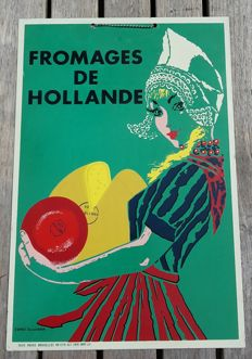 Donald Brun - Fromages de  Hollande-   1959