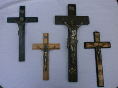 Antique crucifixes