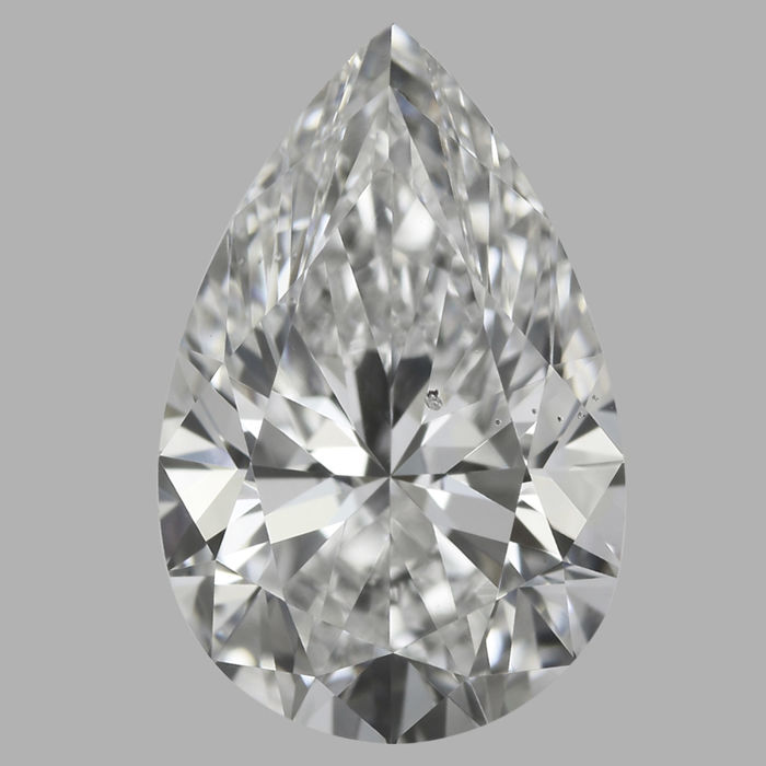 1.01ct Pear  Brilliant Diamond E VS2  IGI  -Original Image-10X - Serial#1753