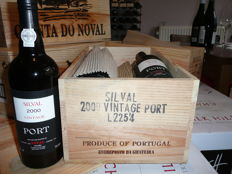 2000 Quinta do Noval Silval Vintage Port - 2 x 6 OWC - 12 bottles (75cl) total