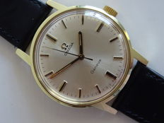Omega Geneve vintage men's wristwatch 1969 OVERHAULED NO RESERVE PRICE