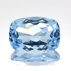 Topacio Azul Cielo - 7.63 ct. - No Reserve Price