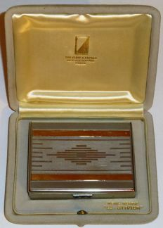 Van Cleef & Arpels Jewellery - Cigarette case in Stryptor - Art Deco