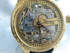 18. Omega - Skeleton men's marriage watch - 1902-1908.