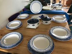 Villeroy and Boch Luxemburg Easy porcelain tableware set decorated with fish