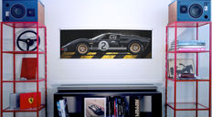 Halmo Collection Ford GT40 plexiglass print