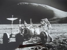 Apollo-15: Jim Irwin and the Moon rover