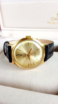 Poljot de luxe automatic - Men's Soviet  Gold Plated Au20 Wristwatch -1970's