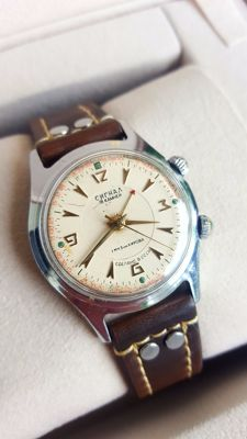 Soviet  POLJOT  ALARM - Men's CCCP  Wristwatch -1960s in good condition