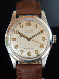 TAVANNES (CYMA) WATERSPORT - Men's wristwatch from 1940s - Swiss made.