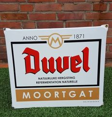 Duvel beer anno 1871 - Moortgat enamel sign