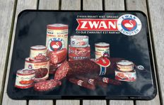 Advertising sign - ZWAN - 1956