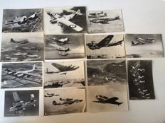 Lot of 53 postcards and 1 photo of a plane from 1930-60