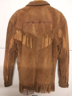 Original (leather) Harley-Davidson jacket - As worn by Dennis Hopper in the film Easy Rider