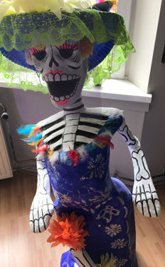 Day of the dead - Dia de muertos - Mexico - from the 90s of the last century.
