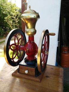 Cast iron coffee grinder - Simplex nº 8 - U.S.A. - 1870