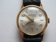Varbar - Women's wrist watch - 1960s - Gold.