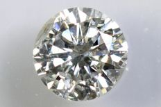 0.22 ct - Brilliant-cut diamond -  G, I1  NO RESERVE PRICE