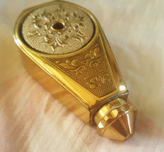 Gold plated atomizer, France, first half 20th century
