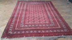 Hand-knotted Persian Afghan carpet – 193 x 133 cm – bidding starts at €1