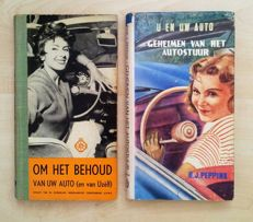 Henk J. Peppink - lot with 7 parts on car driving - 1937 / 1958