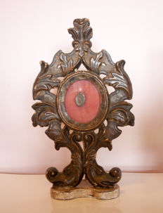Baroque relic holder - Italy - ca 1750