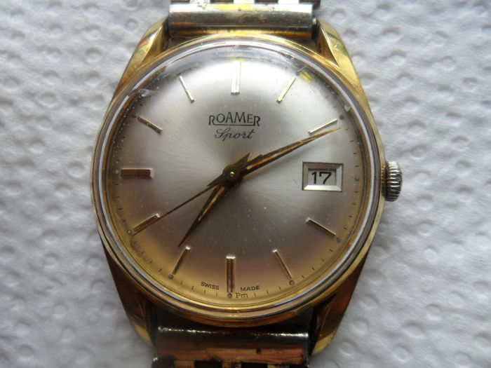 Roamer Sport - Men's watch - 1960s - Top model