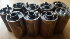 Leitz brass film canisters