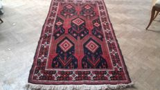 Old hand-knotted Persian Beloutch carpet – Iran – 230 x 151 cm