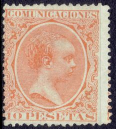 Spain 1889/1901 – Alfonso XII era Bald type – Edifil 228