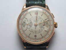 Dogma Prima - Chronograph watch - Circa 1950 - Gold