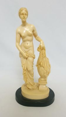 A. Santini - Venus image in alabaster, Greek mythology