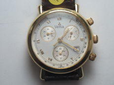 Vetta - chronograph wristwatch - 1980s/90s - gold