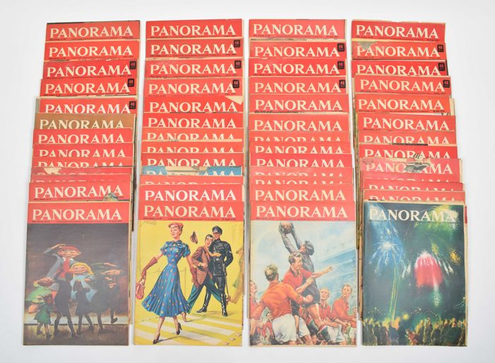 "Magazines; Lot with complete volume ""Panorama"" - 52 issues - 1953"