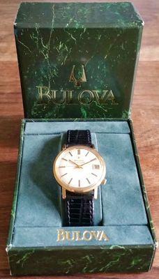 "Bulova Accutron Tunning Fork ""Hummingbird"" 218 + Box from 1968"