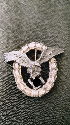 Aircraft pilots and observer badge BSW