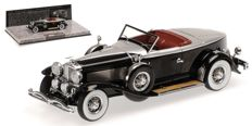 Minichamps - Scale 1/43 - Duesenberg Model J Torpedo Convertible Coupe 1929