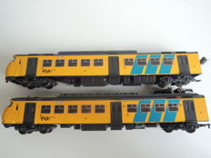 Fleischmann H0 - 2-part train set 'Sprinter' of the NS