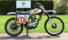 BSA - B25MX Motorcross - Anos 1960
