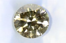 Diamond 1.08 ct – SI1 – Fancy Dark Gray – No Reserve Price