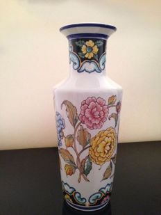 Lovely Art Deco Chrysanthemum vase signed by the artist