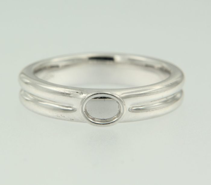 18k white gold ring - Mauboussin - Ring size 15 (47)