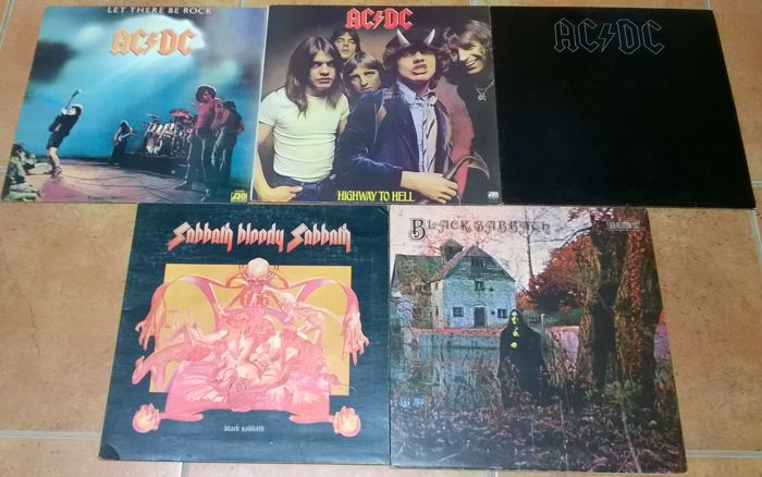 AC/DC and Black Sabbath