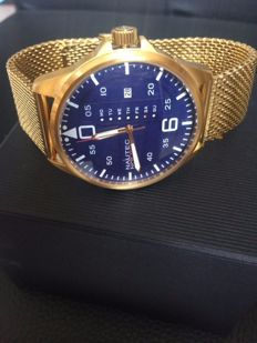 Nautec No Limit Vanguard GP Blue Milanese gold