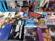 "Lot of 50 7"" singles from the 70's and 80's in VG++ up to EX condition."