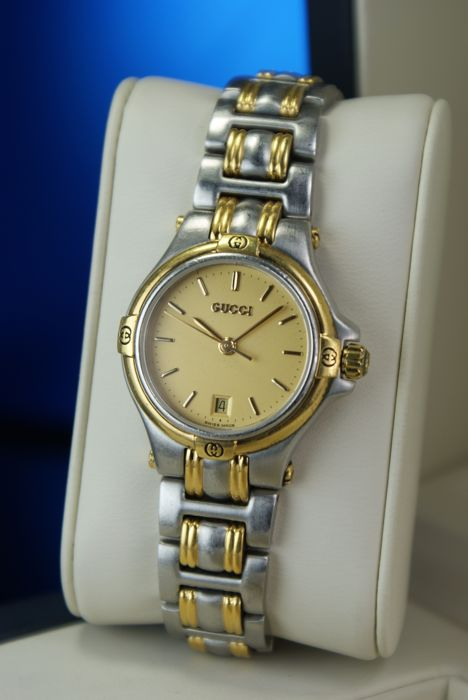 229d016635b Gucci - Luxury Wrist Watch for Women Date Stainless   Gold Plated ...